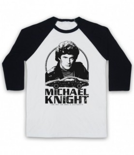 Knight Rider Michael Knight Tribute Baseball Tee