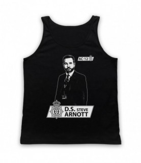 Line Of Duty DS Steve Arnott Tribute Tank Top Vest
