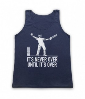 Ben Stokes It's Never Over Until It's Over The Ashes Tank Top Vest