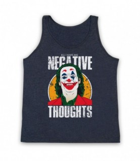 Joker Arthur Fleck All I Have Are Negative Thoughts Tank Top Vest