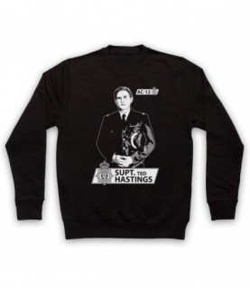 Line Of Duty Superintendent Ted Hastings Tribute Hoodie Sweatshirt Hoodies & Sweatshirts