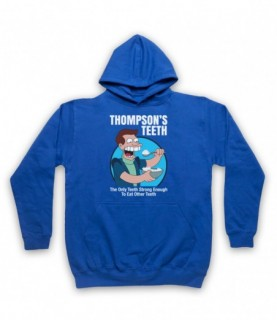 Futurama Thompson's Teeth Hoodie Sweatshirt Hoodies & Sweatshirts