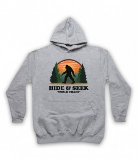 Hide And Seek World Champ Bigfoot Yeti Sasquatch Hoodie Sweatshirt Hoodies & Sweatshirts