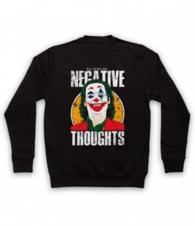 Joker Arthur Fleck All I Have Are Negative Thoughts Hoodie Sweatshirt Hoodies & Sweatshirts
