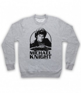 Knight Rider Michael Knight Tribute Hoodie Sweatshirt Hoodies & Sweatshirts