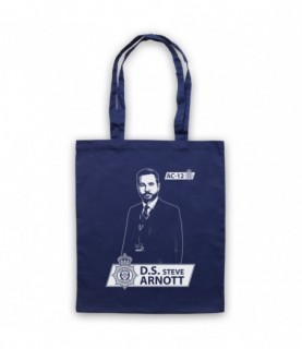 Line Of Duty DS Steve Arnott Tribute Tote Bag