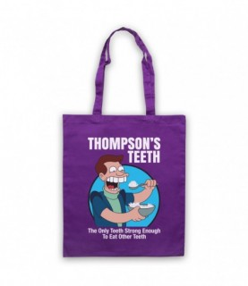 Futurama Thompson's Teeth Tote Bag