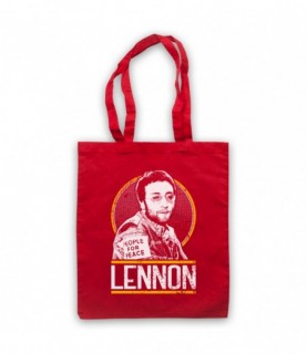 John Lennon Tribute Tote Bag