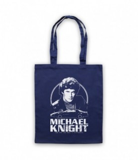 Knight Rider Michael Knight Tribute Tote Bag