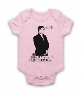Line Of Duty DC Kate Fleming Tribute Baby Grow Bib