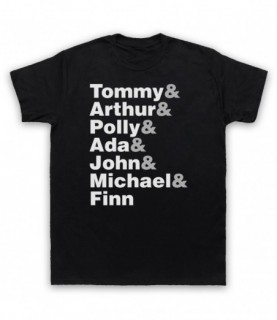 Peaky Blinders Shelby Gray Family Character Names T-Shirt