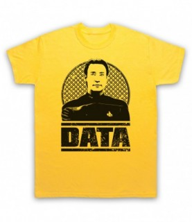 Star Trek Commander Data Tribute T-Shirt