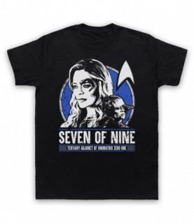 Star Trek Seven Of Nine Tertiary Adjunct Of Unimatrix Zero One T-Shirt