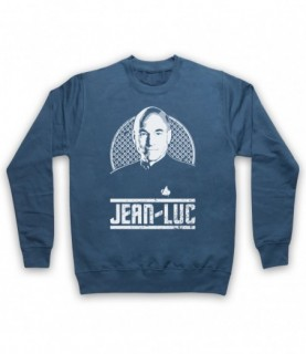 Star Trek Captain Jean-Luc Picard Tribute Hoodie Sweatshirt Hoodies & Sweatshirts
