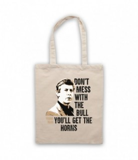 Breakfast Club Don't Mess With The Bull You'll Get The Horns Tote Bag