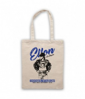 Elton John Dodger Stadium Los Angeles 1975 Tote Bag