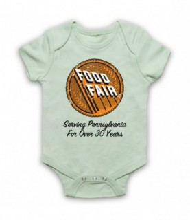 Irishman Food Fair Delivery Truck Driver Logo Baby Grow Bib