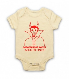 Dolemite Rudy Ray Moore Underground Series Adults Only Baby Grow Bib