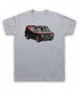 A-Team Van GMC Vandura Iconic Vehicle T-Shirt