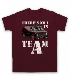 A-Team Van There's No I In Team Parody T-Shirt