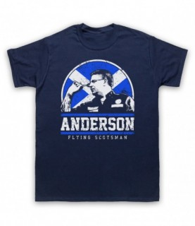 Anderson Flying Scotsman Darts Tribute T-Shirt
