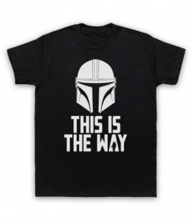 Mandalorian t-shirt, This Is The Way T-Shirt, mando star wars, bounty hunter t-shirt,