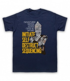 Mandalorian Star Wars IG-11 Initiate Self Destruct Sequencing T-Shirt T-Shirts