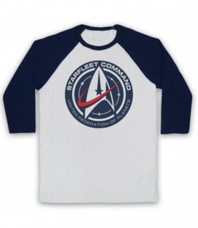 Star Trek Starfleet Command United Federation Of Planets Baseball Tee