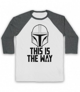 Mandalorian Star Wars This Is The Way Baseball Tee