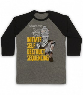 Mandalorian Star Wars IG-11 Initiate Self Destruct Sequencing Baseball Tee