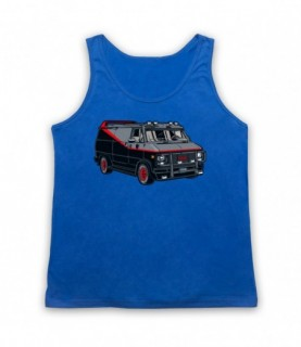 A-Team Van GMC Vandura Iconic Vehicle Tank Top Vest
