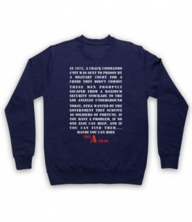 A-Team Introduction Text Maybe You Can Hire Hoodie Sweatshirt Hoodies & Sweatshirts