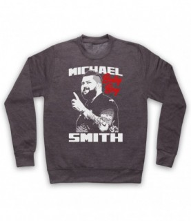 Michael Smith Bully Boy Darts Tribute Hoodie Sweatshirt Hoodies & Sweatshirts