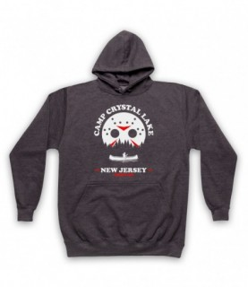 Friday The 13th Camp Crystal Lake Hoodie Sweatshirt Hoodies & Sweatshirts