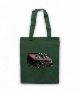 A-Team Van GMC Vandura Iconic Vehicle Tote Bag