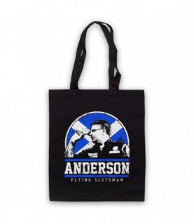 Anderson Flying Scotsman Darts Tribute Tote Bag