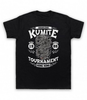 Bloodsport Kumite 1988 Black Dragon Tournament T-Shirt