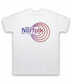 Alan Partridge North Norfolk Digital Radio Station Logo T-Shirt