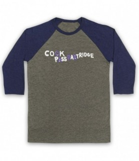 Alan Partridge Cook Pass Babtridge Cock Piss Partridge Car Graffiti Baseball Tee