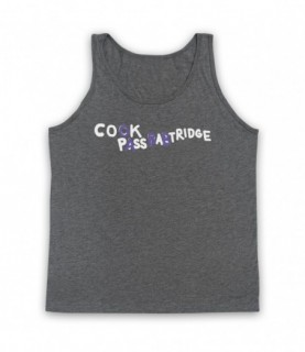 Alan Partridge Cook Pass Babtridge Cock Piss Partridge Car Graffiti Tank Top Vest