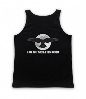 Game Of Thrones I Am The Three Eyed Raven Tank Top Vest