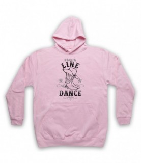 I Love To Line Dance Country & Western Barn Dance Hoodie Sweatshirt Hoodies & Sweatshirts