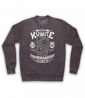 Bloodsport Kumite 1988 Black Dragon Tournament Hoodie Sweatshirt Hoodies & Sweatshirts