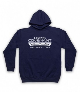 Alien Covenant USCSS Covenant Hoodie Sweatshirt Hoodies & Sweatshirts