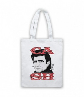 Johnny Cash The Man In Black Tote Bag