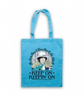 Bob Dylan Tangled Up In Blue Tote Bag
