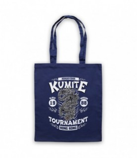 Bloodsport Kumite 1988 Black Dragon Tournament Tote Bag