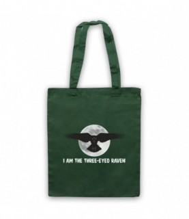Game Of Thrones I Am The Three Eyed Raven Tote Bag