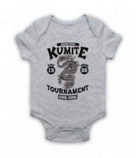Bloodsport Kumite 1988 Black Dragon Tournament Baby Grow Bib